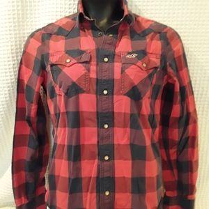 Hollister Western style Shirt m